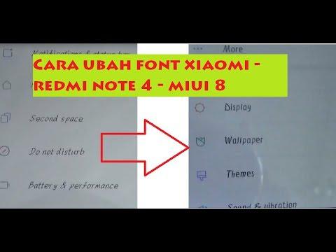 Download Mengubah font mudah di xiaomi note 4 tanpa root