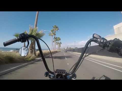 Harley Sportster Coast HWY Ride