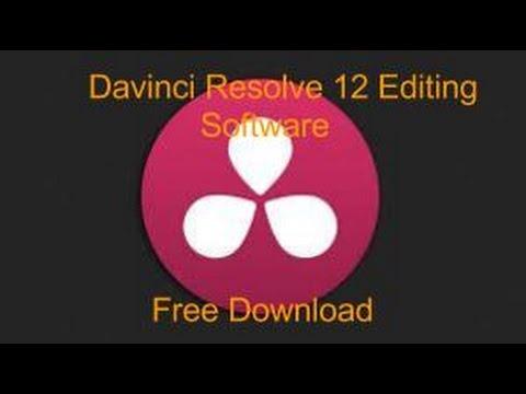 Davinci Resolve 12 Free Download | Davinci Resolve 12 Editing Software - YouTube