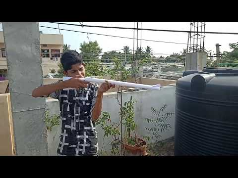 How to Make a Giant Double Barrel Gun That Can Shoot | Paper Gun Toy