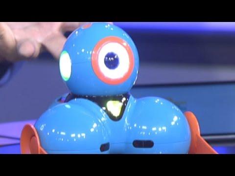 Robots help teach kids how to code