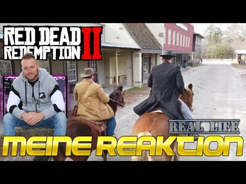 Meine REAKTION auf: REAL Red Dead Redemption 2 | Swamp Sniper