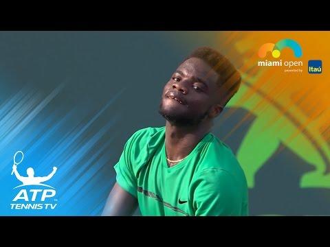 Coric, Tiafoe shine   Miami Open 2017 Highlights Day 2