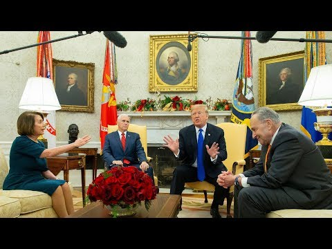 Trump Vows Government Shutdown in Combative Meeting With Top Democrats