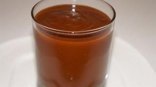 Recette de la sauce au caramel  facile ( CUISINERAPIDE)