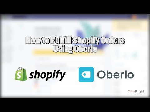 How To Fulfill Shopify Orders Using Oberlo & AliExpress