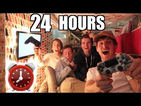 24 HOUR PLAYSTATION FORT!