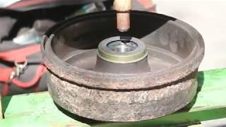 как установить датчик-магнитное кольцо для ABS в Opel Corsa / Combo / Meriva