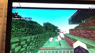 Minecraft trolling my friend