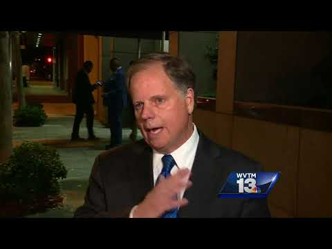 Doug Jones shares campaign update in Birmingham