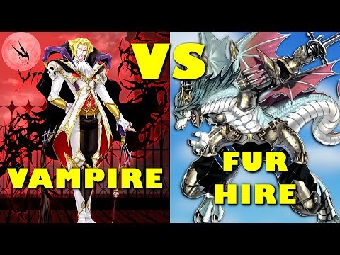 Real Life Yugioh - VAMPIRE vs FUR HIRE | August 2018 Scrub League
