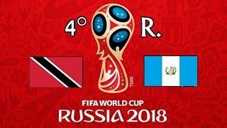 TRINIDAD Y TOBAGO v. GUATEMALA - CONCACAF 2018 FIFA World Cup - GRUPOC