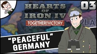 Uniting Europe! Hearts of Iron 4 Germany Campaign Playthrough Part 3