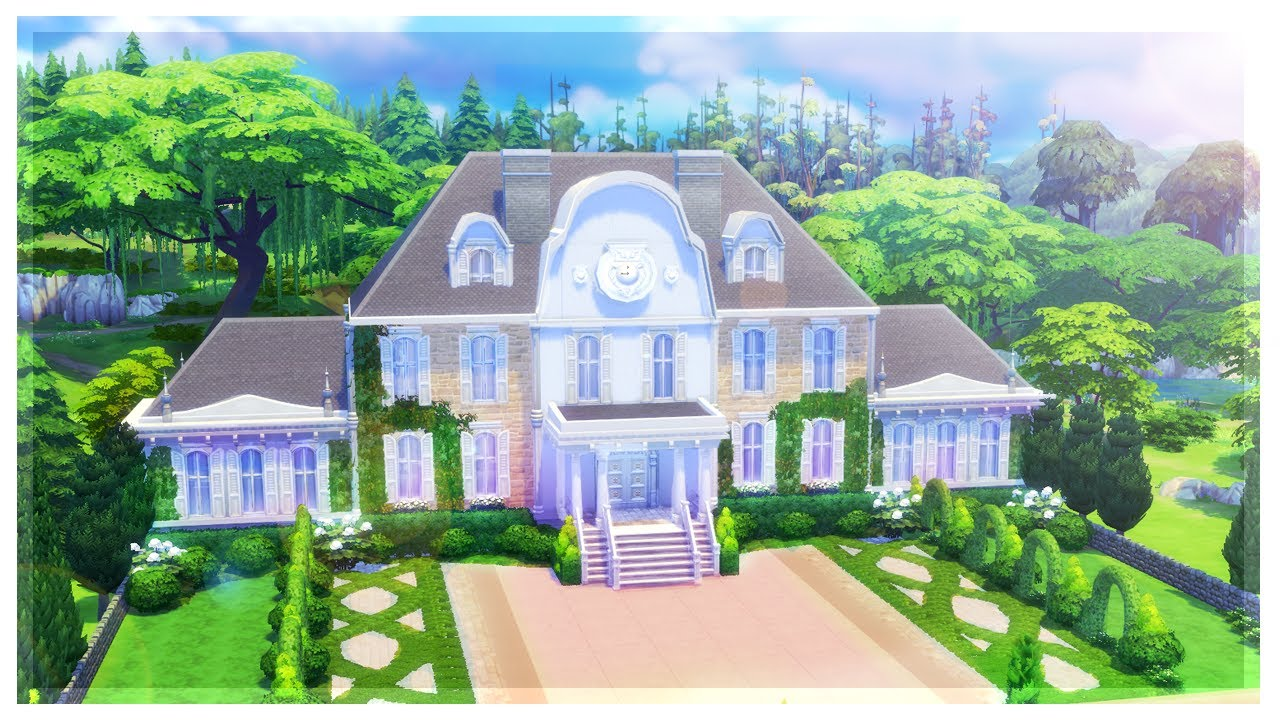 Sims  How To Build A Mansion