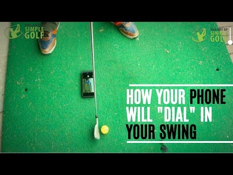 How A  Cell Phone Can Improve Your Golf Swing (My Secret Weapon)