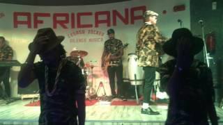 Lesasa LSABRONSO LIVE SHOW in Club africana BURDUBAI