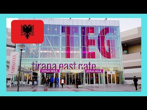 ALBANIA, the TEG SHOPPING MALL (Tirana East Gate), ALBANIA