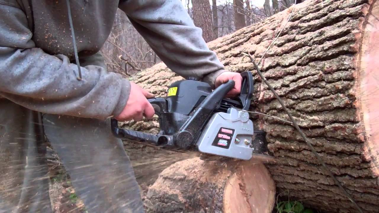 20 inch craftsman chain saw youtube greentooth Images