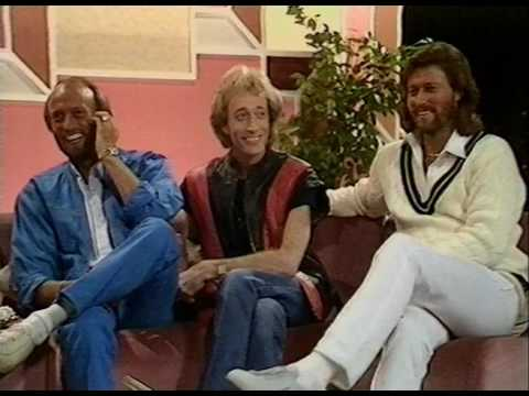 The Bee Gees on Noel Edmonds Late Late Breakfast Show (1983)