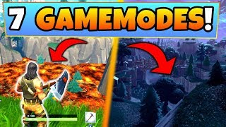 Fortnite Gameplay: 7 NEW GAMEMODE LEAKS & IDEAS! – Floor is Lava (Battle Royale Update?)