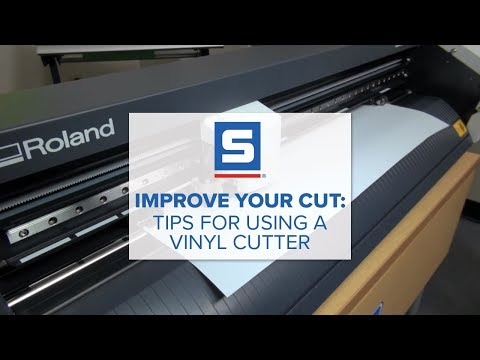 Improve Your Cut: Tips For Using A Vinyl Cutter