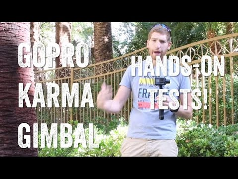 GOPRO KARMA GRIP GIMBAL! Hands-on and test footage!