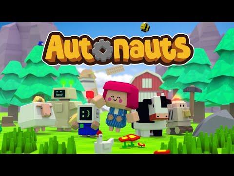 Autonauts Gameplay - First Look (4K) |