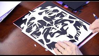 Illustration Techniques: Cut Paper