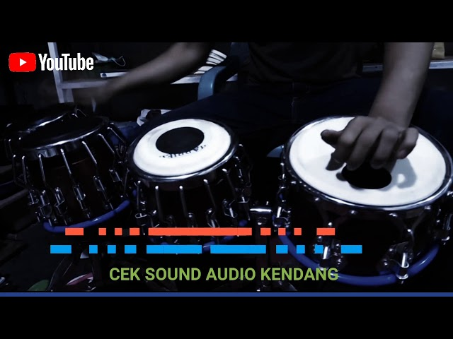 Cek sound audio kendang||Di putar dulu baru tau||
