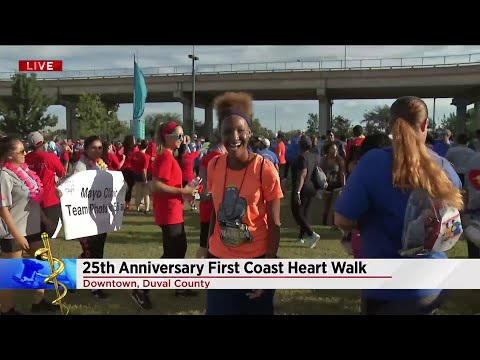 First Coast Heart Walk celebrates 25 years