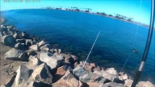 San Diego fishing Mission Beach Jetty