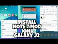 Note7 SystemUI Mods on Galaxy J2 | Nougat GraceUX Style SystemUI | 2017