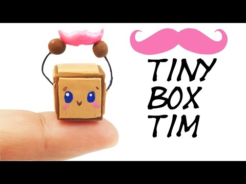 I FEEL LOST Markiplier RESPONSE. How to make Tiny Box Tim polymer clay tutorial