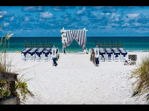 New 'Nautical Tide' Wedding Package: Gulf Beach Weddings