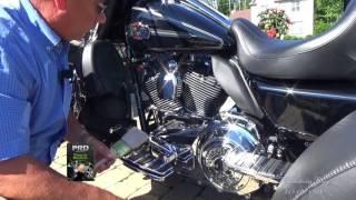 Comment noircire le  moteur d'une harley