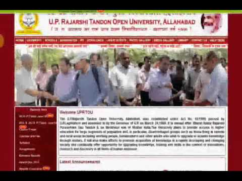 UPRTOU ALLAHABAD   uprtou.ac.in   Result   admission Latest news