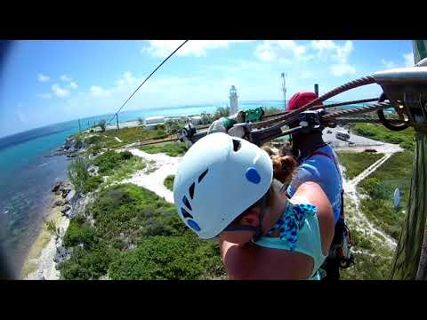 Ropes Course and Zipline - Grand Turk