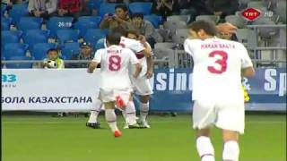 But extraordinaire de Hamit Altintop (Kazakhstan-Turquie) HD