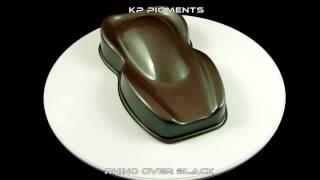 KP Pigments Rhino Pearl over a Black PlastiDip Basecoat