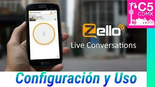 Tu Móvil convertido en Walkie Talkie Zello!!! Android e iOS
