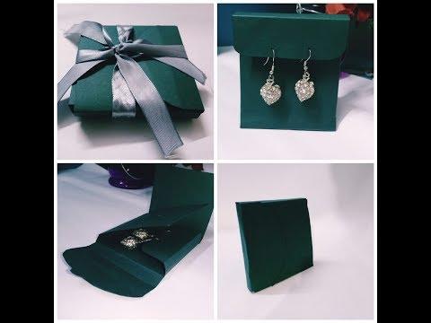 Fantastic handmade gift box idea/Jewellery gift rapping box DIY