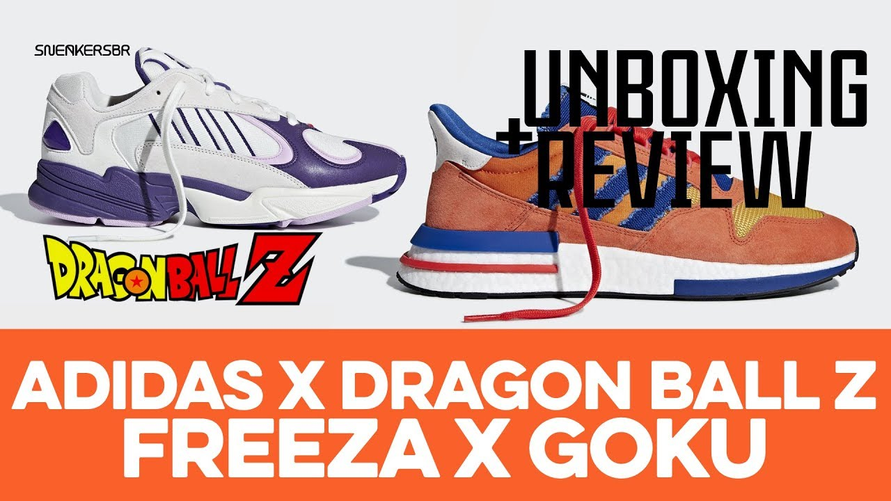 release date: 8fa3a 3731d UNBOXING+REVIEW - adidas X Dragon Ball Z - Goku x Freeza