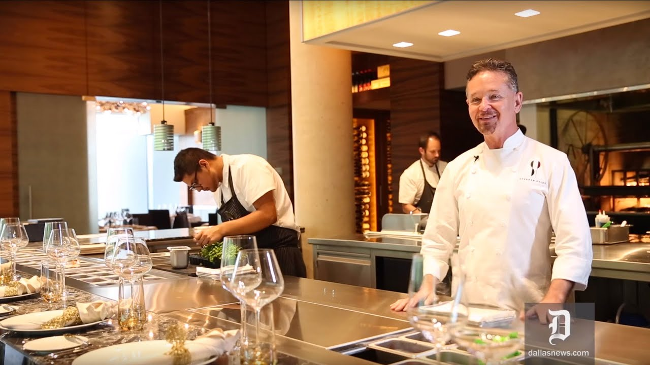 Restaurant Open Kitchen Concept chef stephan pyles discusses open kitchen concept - youtube