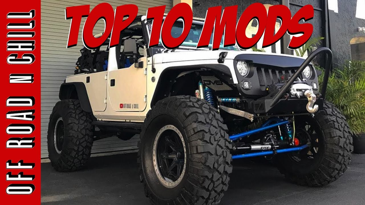 Top 10 Jeep Wrangler JK Mods froading Mods froad