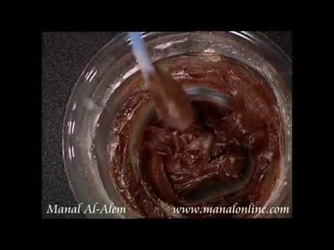 طريقة عمل صلصة الشوكولاتة - مطبخ منال العالم