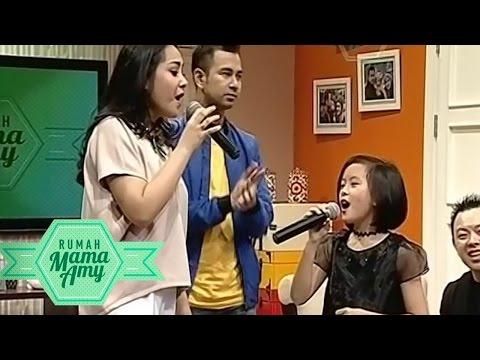 Hebat!! Penyanyi Cilik Berbakat Clarice Cutie Duet Bareng Gigi  - Rumah Mama Amy (16/10)