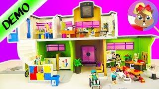 *NOWOŚĆ* Playmobil SZKOŁA Z WYPOSAŻENIEM zestaw 9453 - otwarcie! Nowe liceum Hani?
