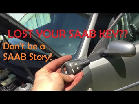 How to replace lost SAAB Key and CIM module Everything you need to know.