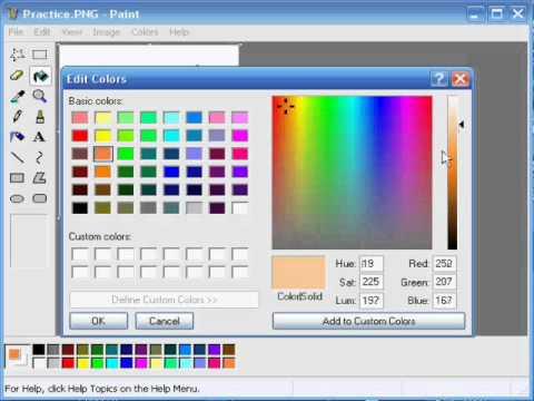 pixel art w paincie