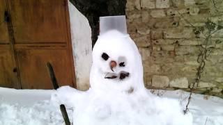 Старый снеговик